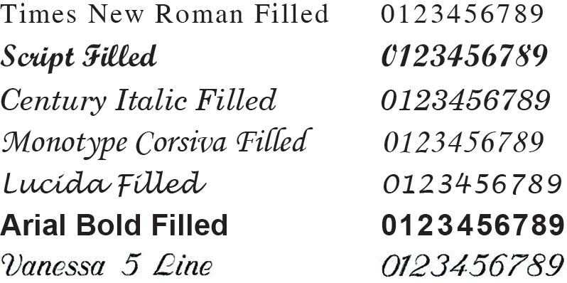 filled-fonts